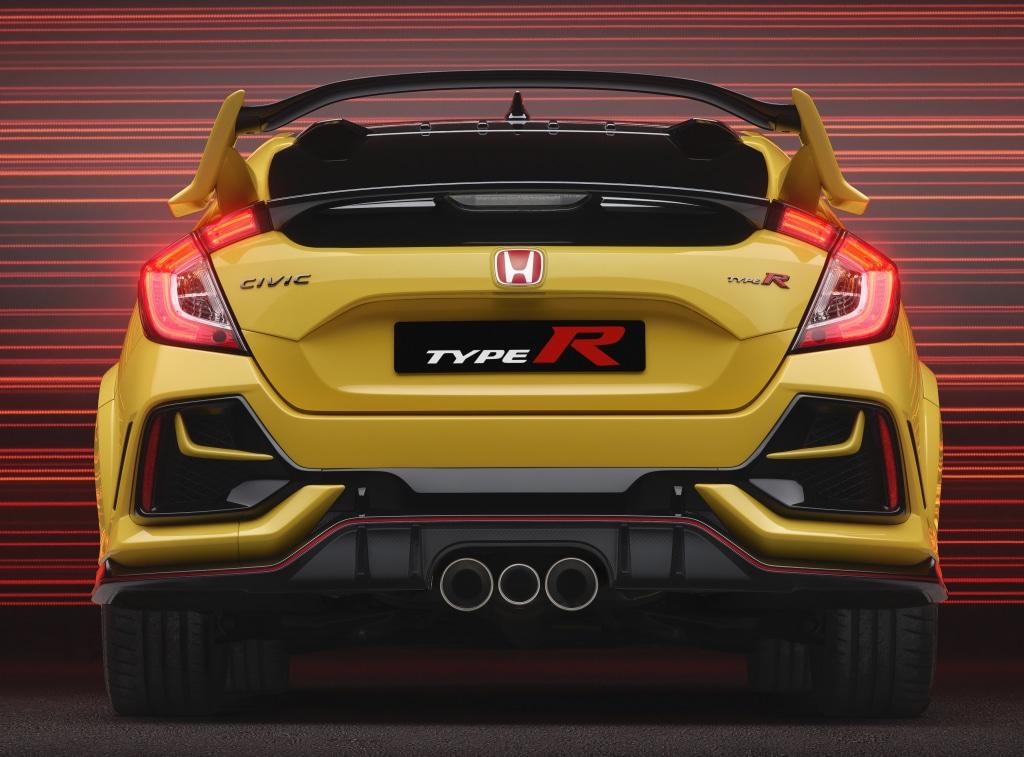Honda LogR pour la Civic Type R