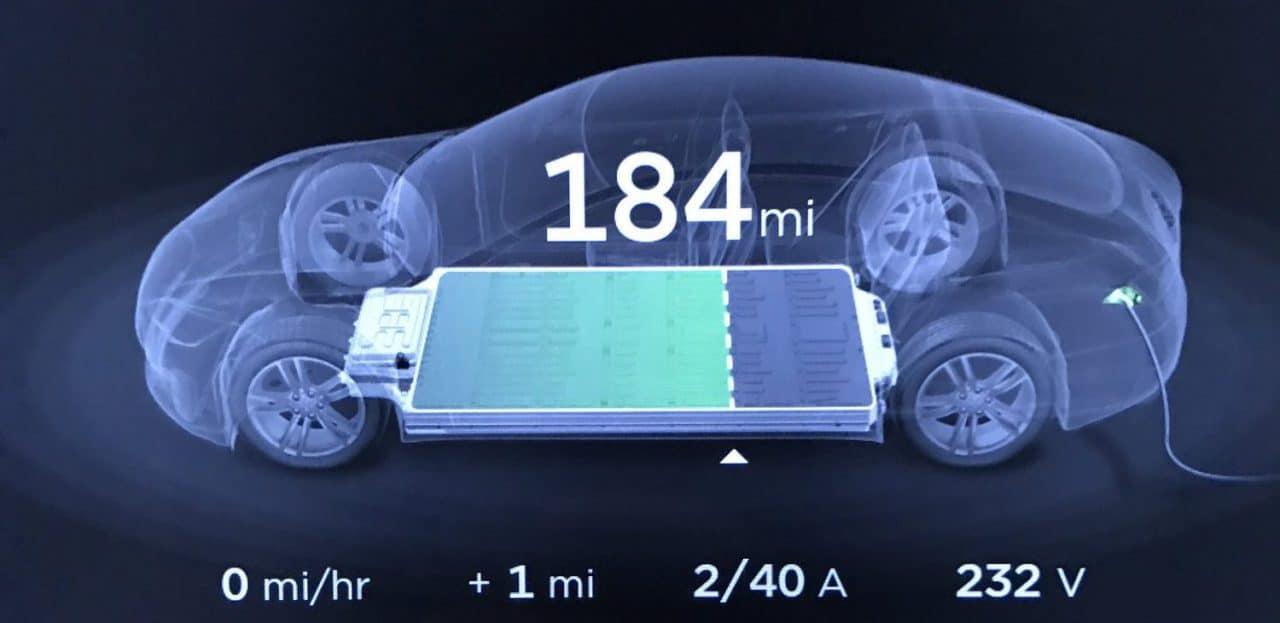 Tesla Model S Batterie