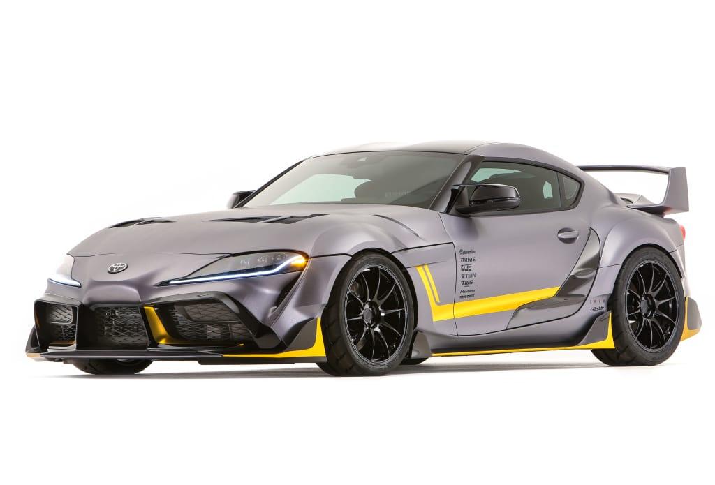 La Toyota GRMN de 400 ch aurait-elle le même look que la 3000GT concept ?