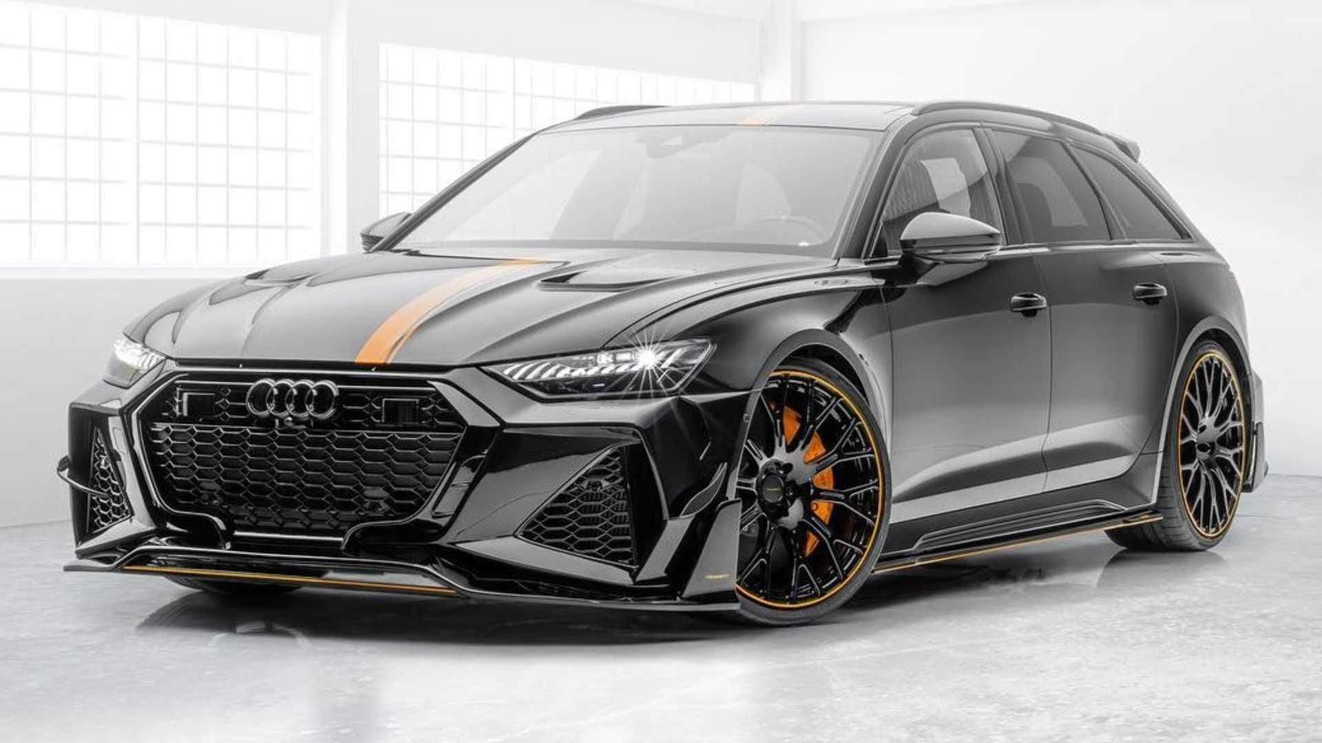Audi RS6 (2020) par Mansory