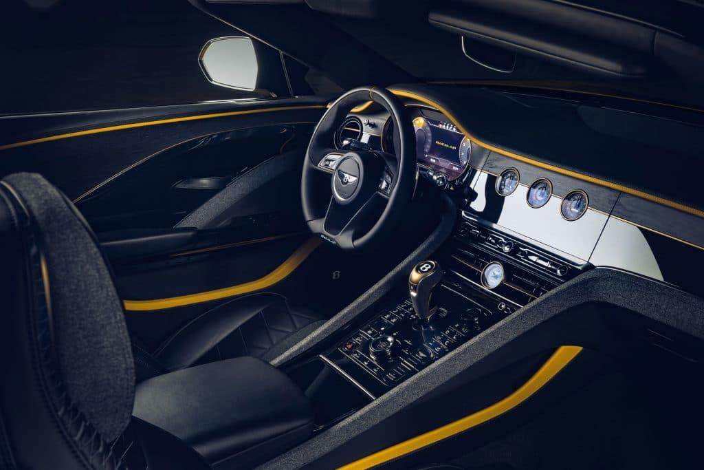 Habitacle de la Bentley Mulliner Bacalar (2020)