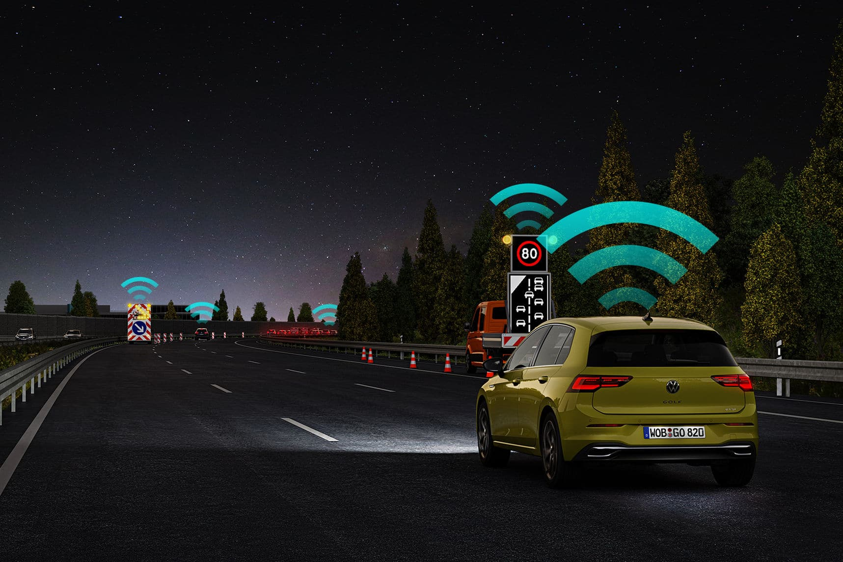 Volkswagen Car2X Euro NCAP