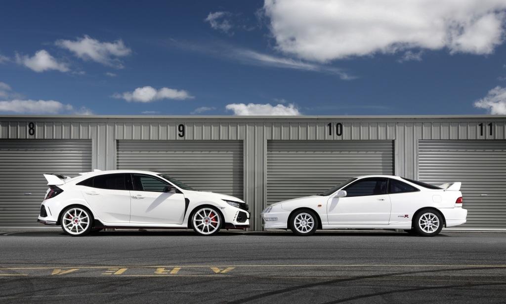 Honda Civic Type R vs Honda Integra Type R