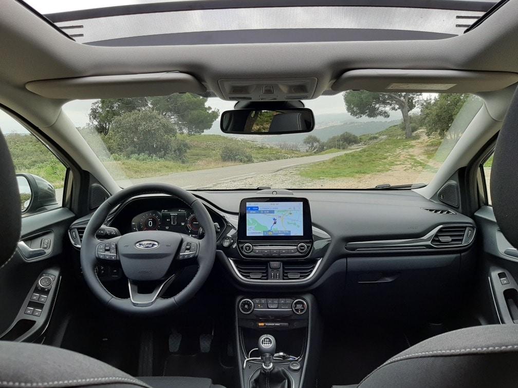 Intérieur du Ford Puma