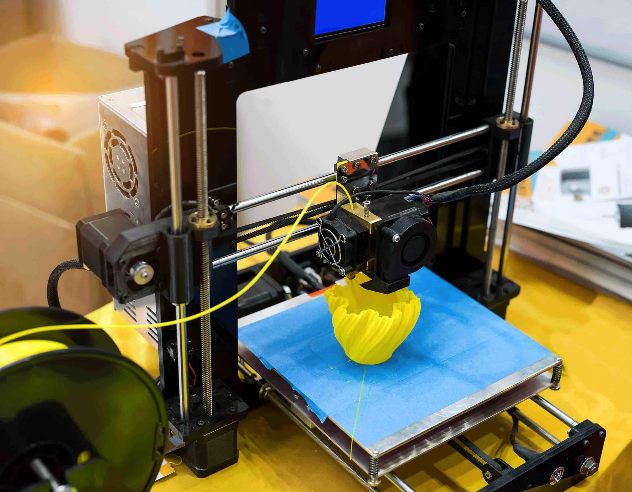 Automobile imprimante 3D
