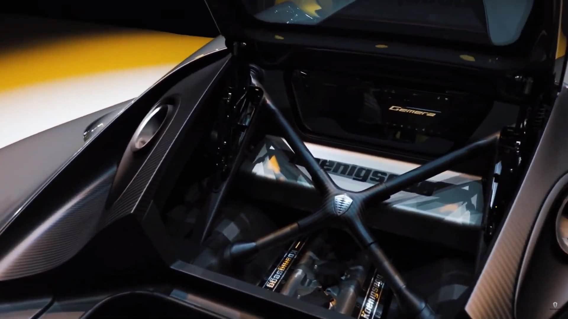Moteur Koenigsegg Gemera (2020)