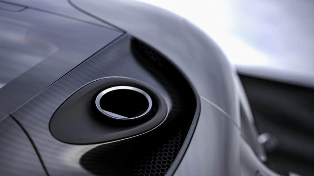 Koenigsegg Gemera échappement