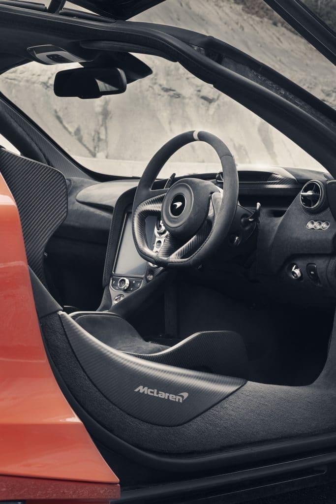 Volant McLaren 765LT