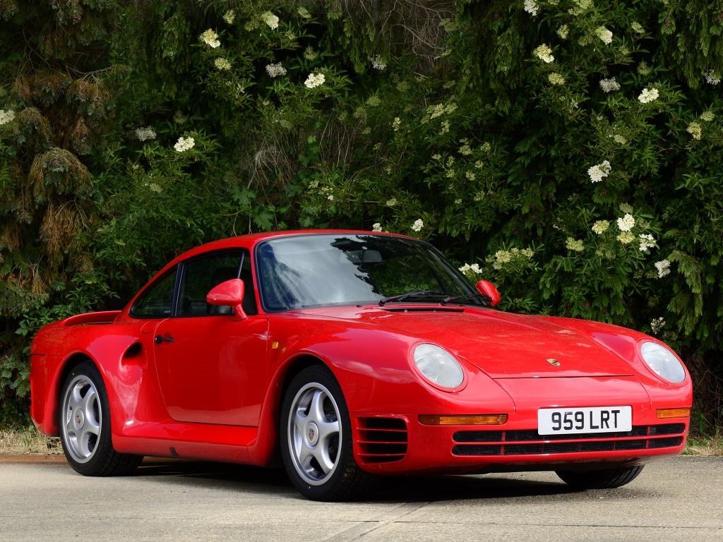 Dossier supercar : Porsche 959