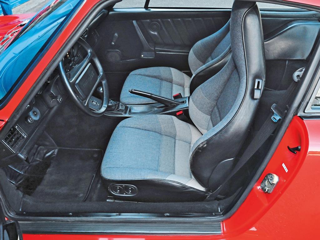 Intérieur Porsche 959