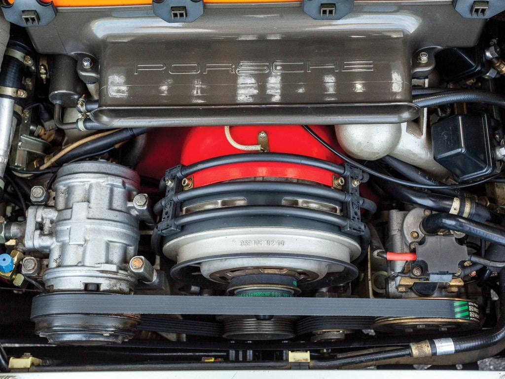 Moteur de la Porsche 959
