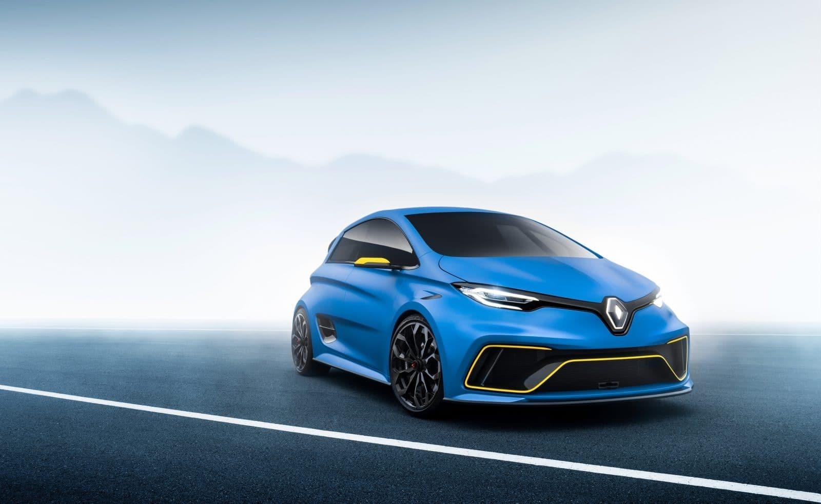 Renault Zoé e-Sport concept (2017)