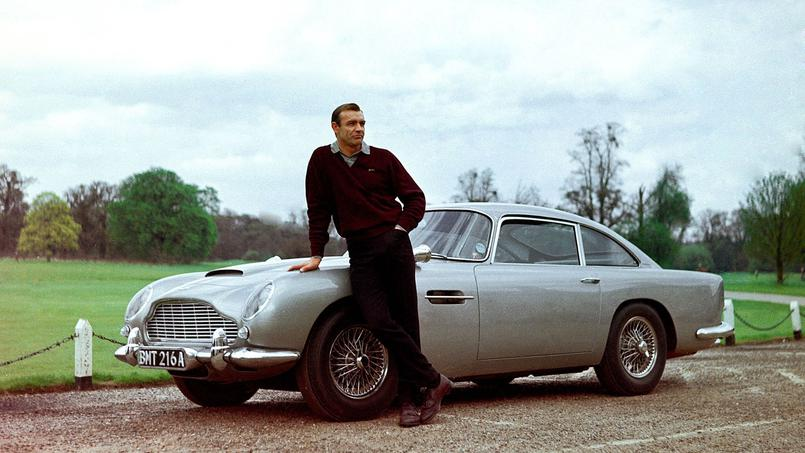 Aston Martin DB5 James Bond Goldfinger