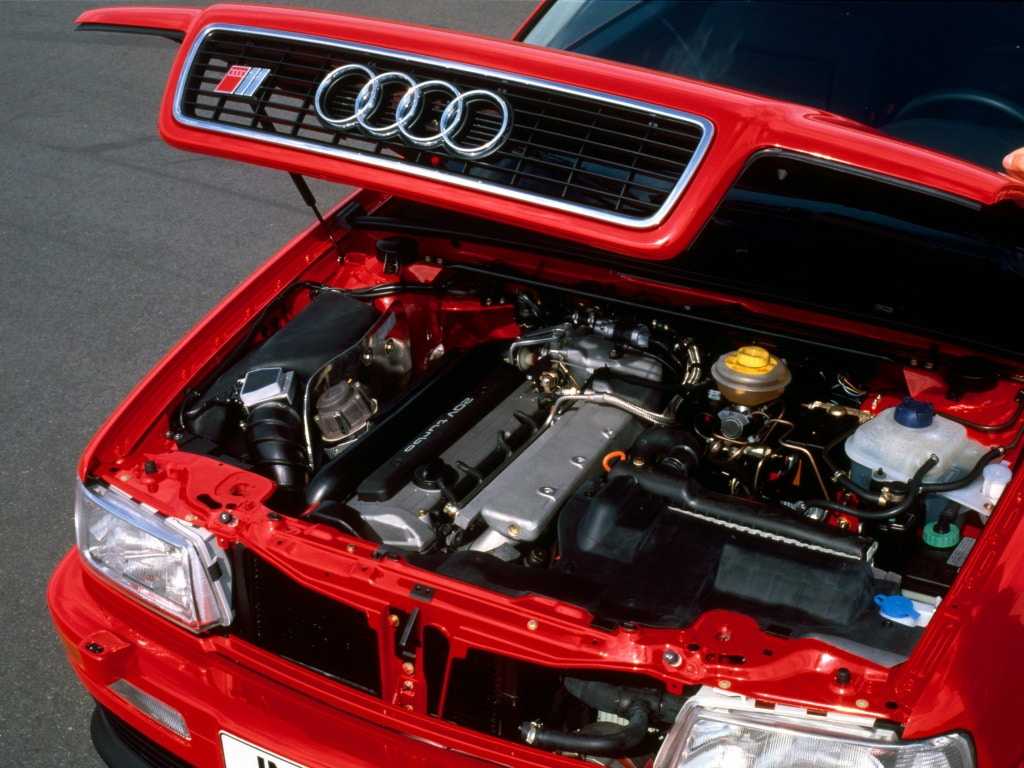 Moteur de l'Audi S2