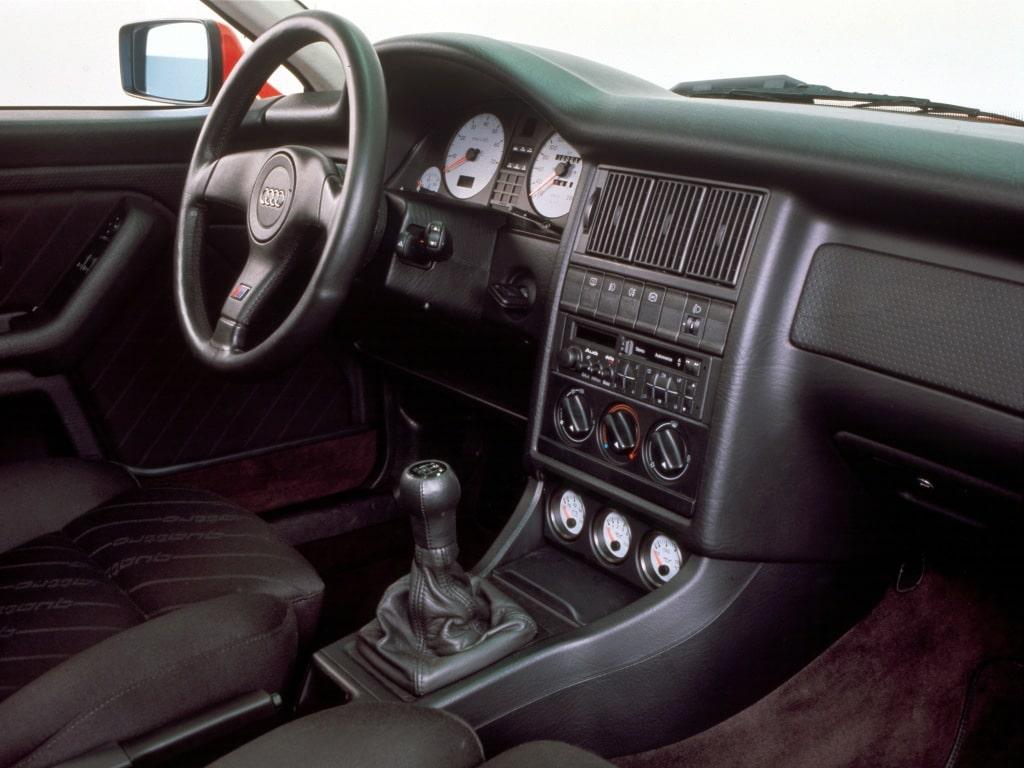 Habitacle de l'Audi S2
