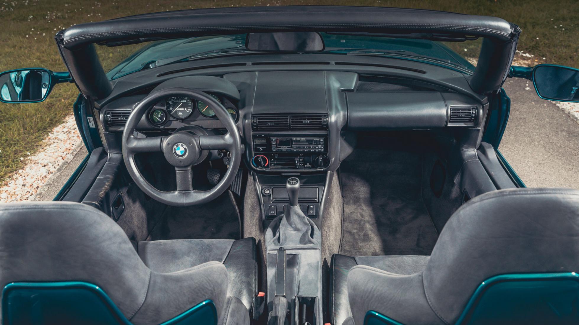 Intérieur de la BMW Z1