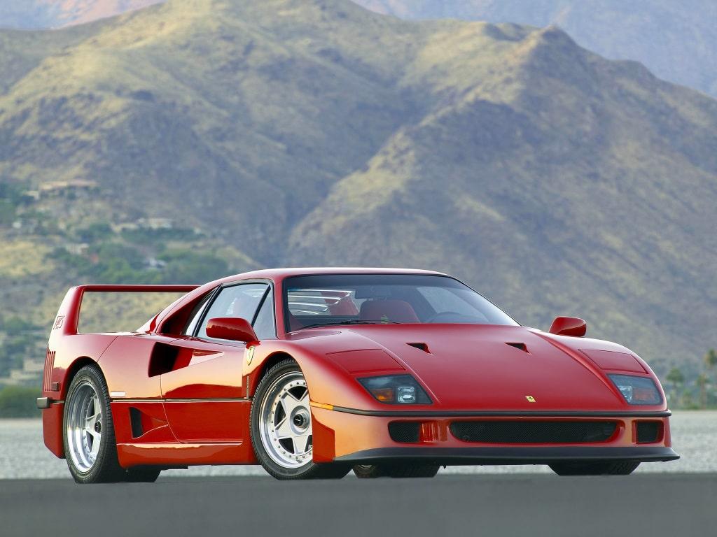 Supercar Ferrari F40