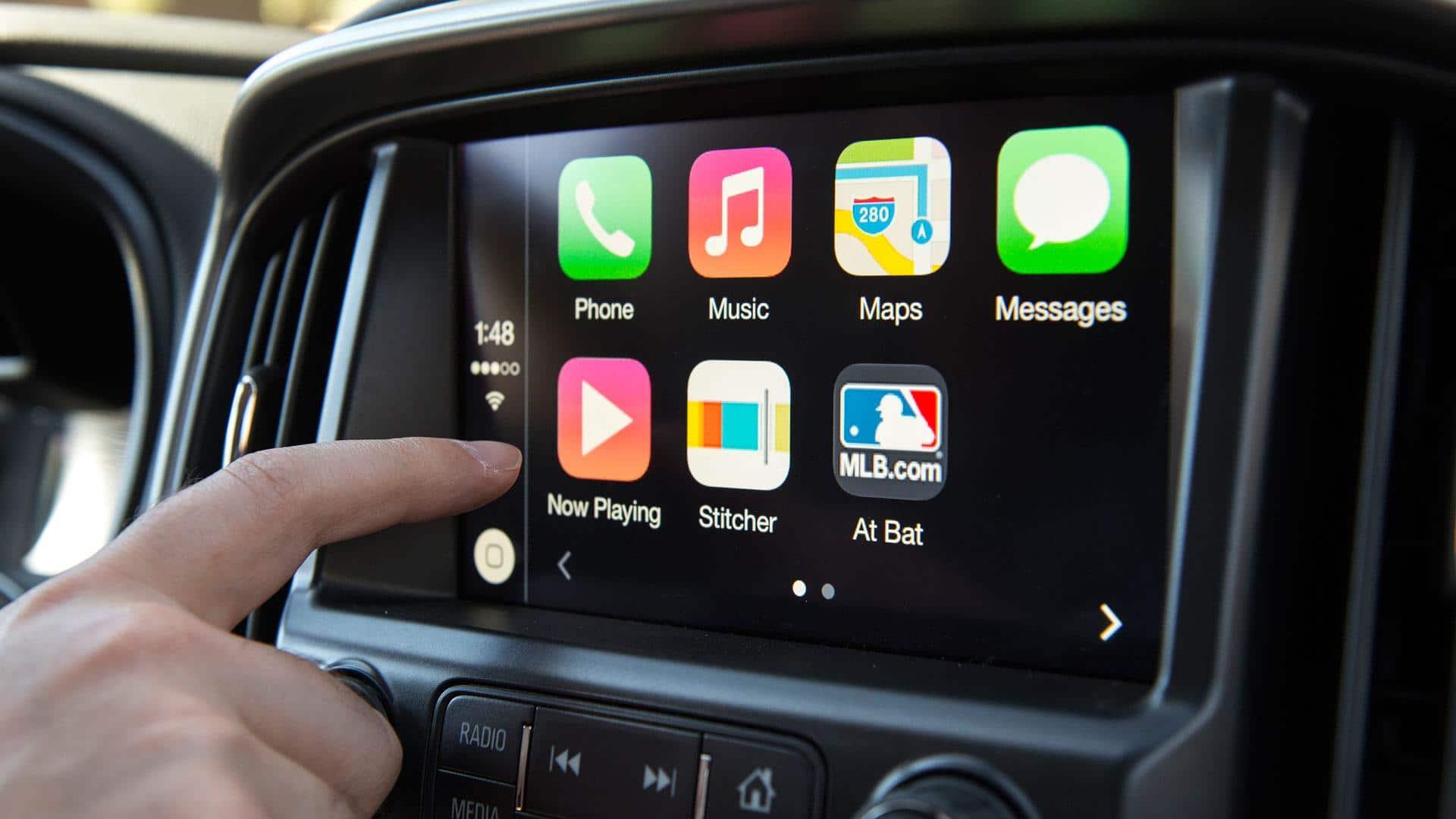 IAM Roadsmart Apple carplay Android Auto