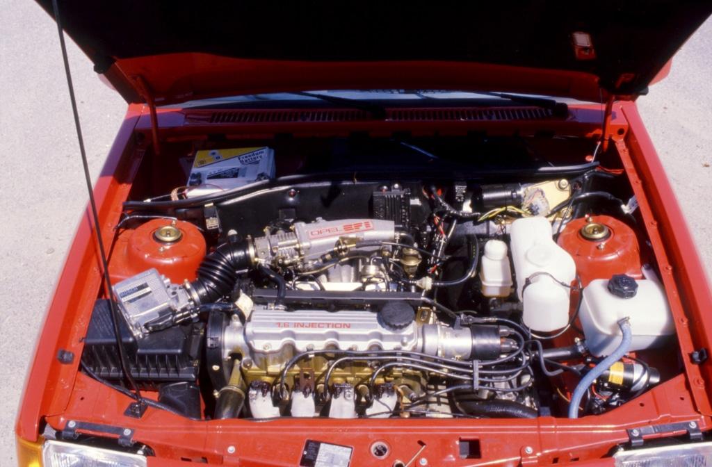 Moteur de la Opel Corsa GSI (A)