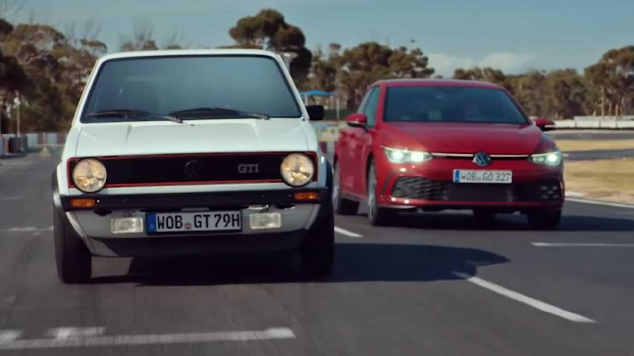 Publicité Volkswagen Golf GTI