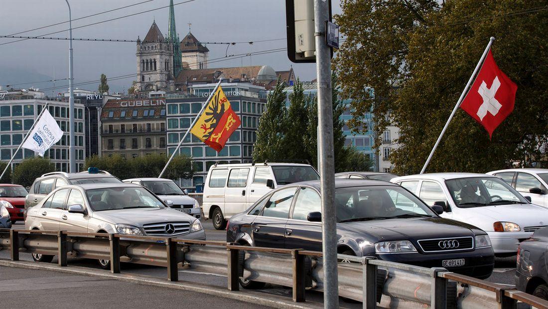 Genève taxe selon le poids des véhicuels