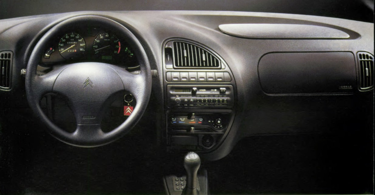 Intérieur Citroën Saxo VTS