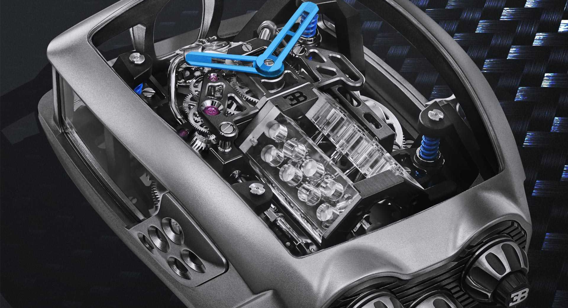 Montre Bugatti Chiron Tourbillon