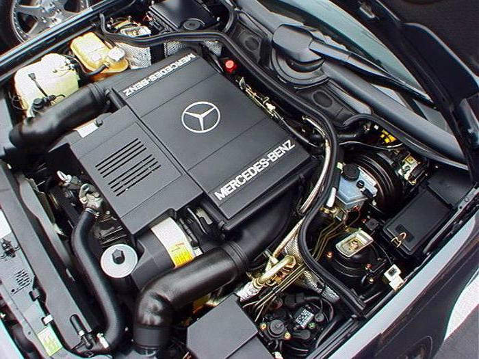 Moteur V8 de la Mercedes 500 E W124