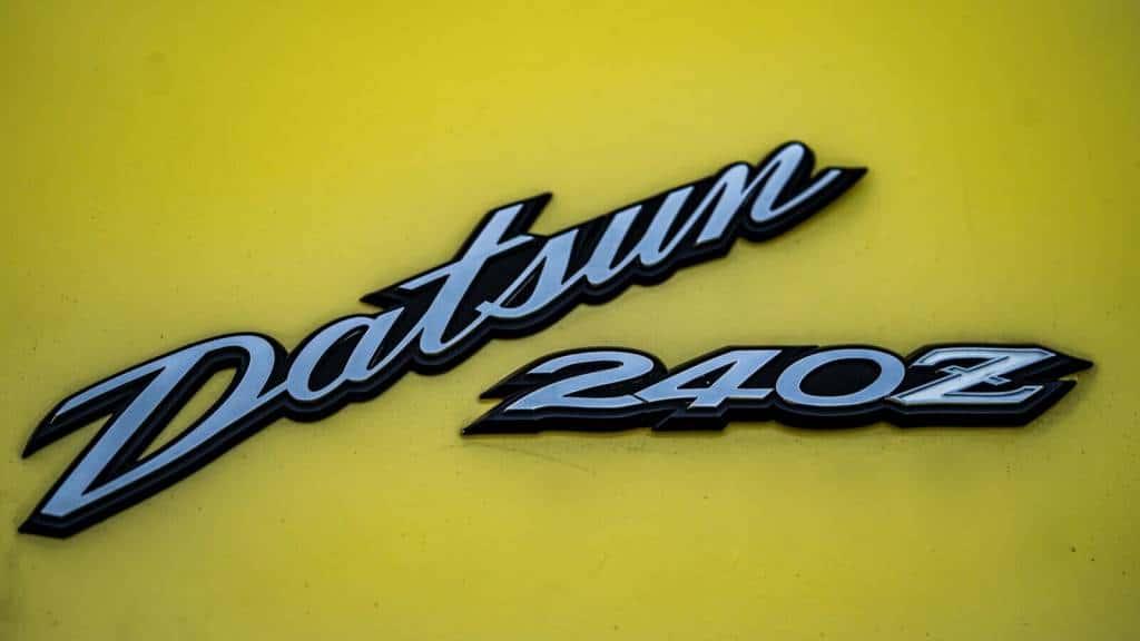 Logo Datsun 240Z