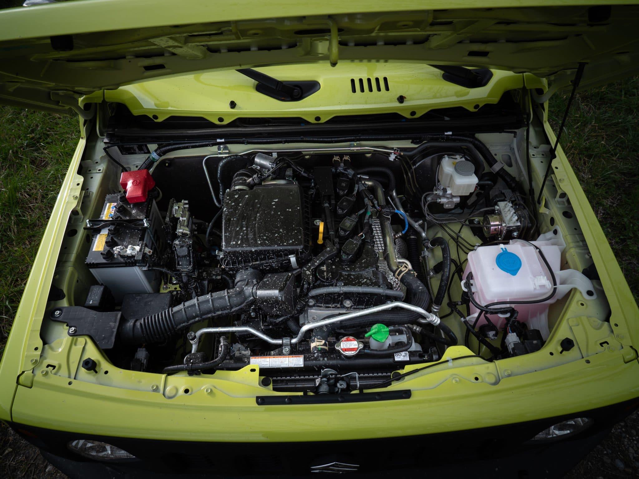 moteur Suzuki Jimny