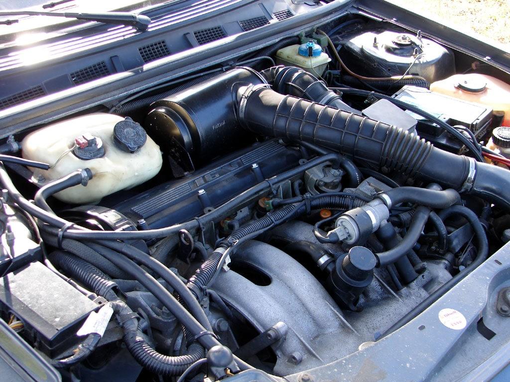 Moteur Mi16 de la Peugeot 309 GTI 16