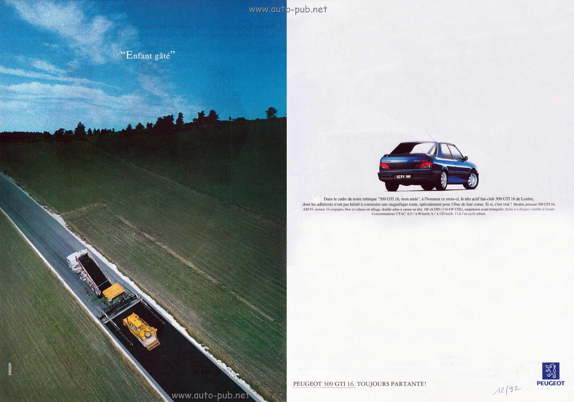 Peugeot 309 GTI 16