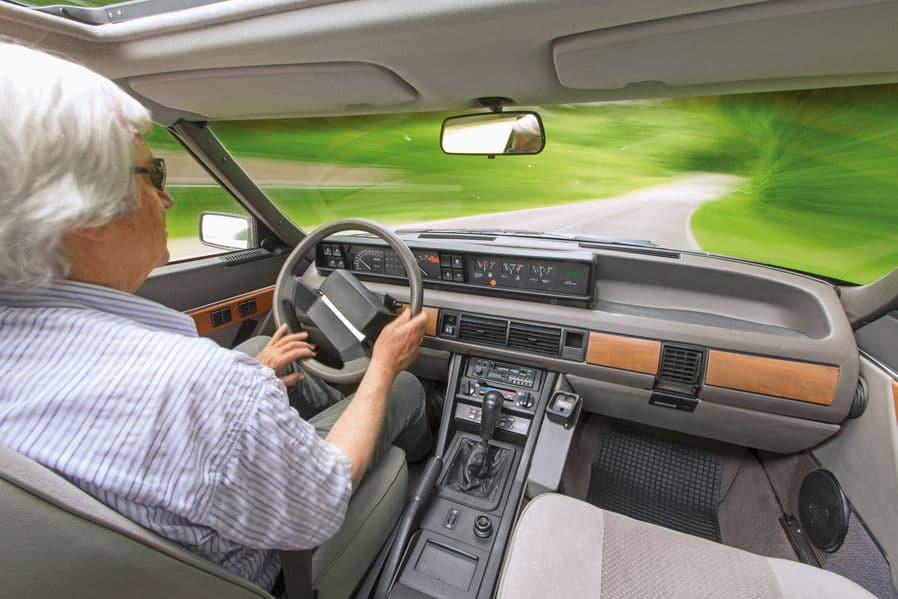 Intérieur Rover Vitesse 3500 SD1