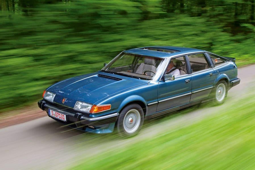 Dossier youngtimer Rover Vitesse 3500 SD1