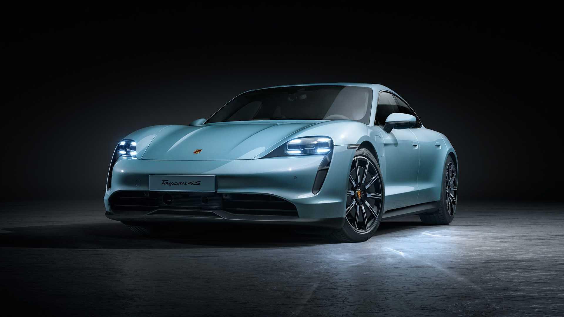 Porsche Taycan propulsion entrée de gamme