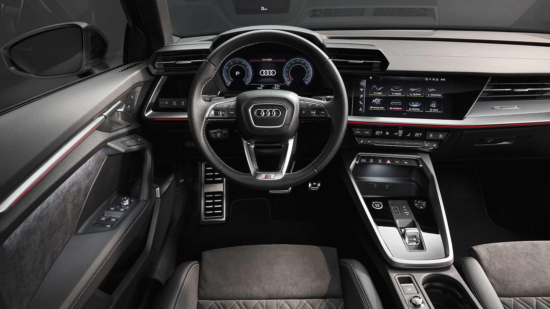 Intérieur Audi A3 Berline (2020)