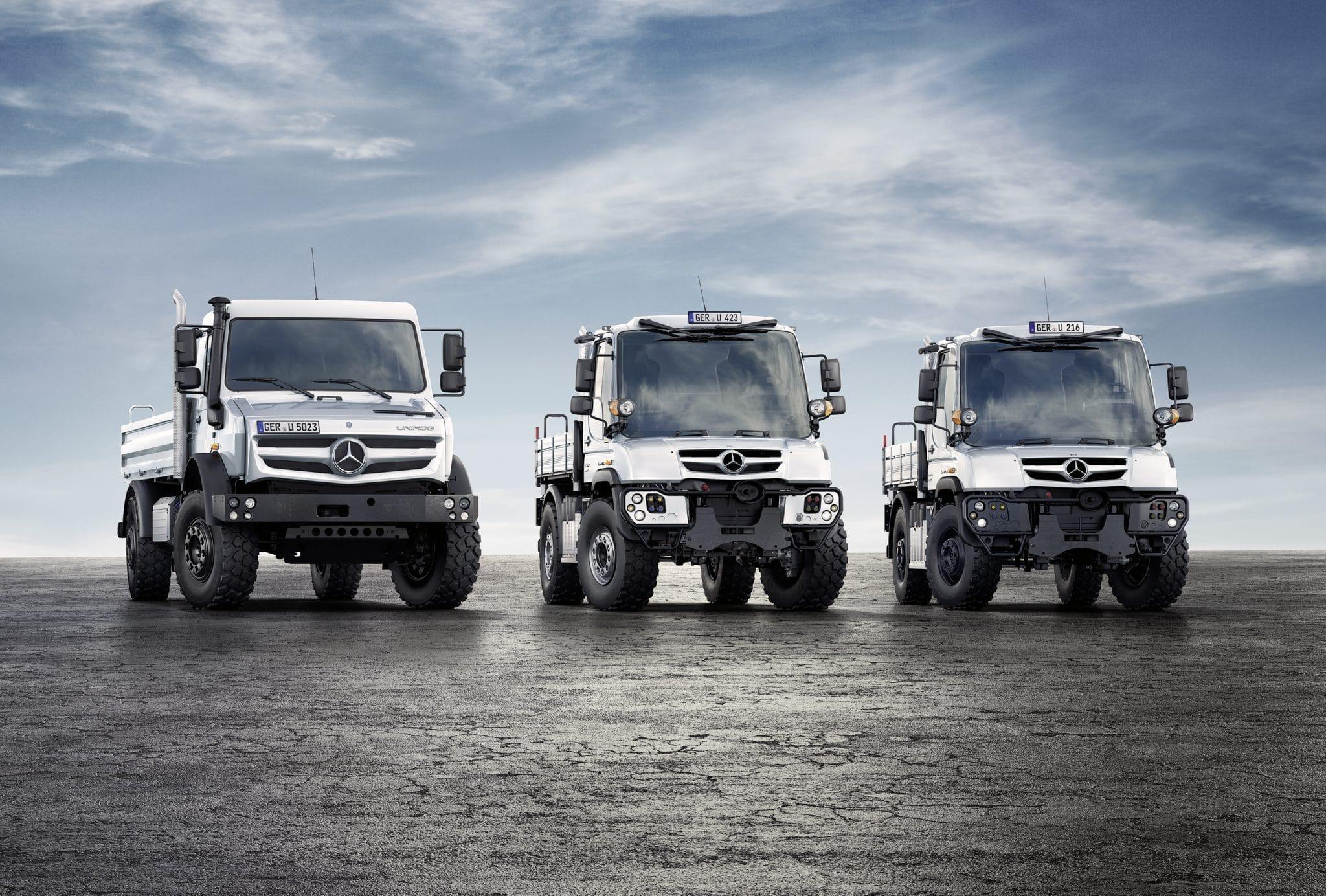 4x4 Mercedes unimog