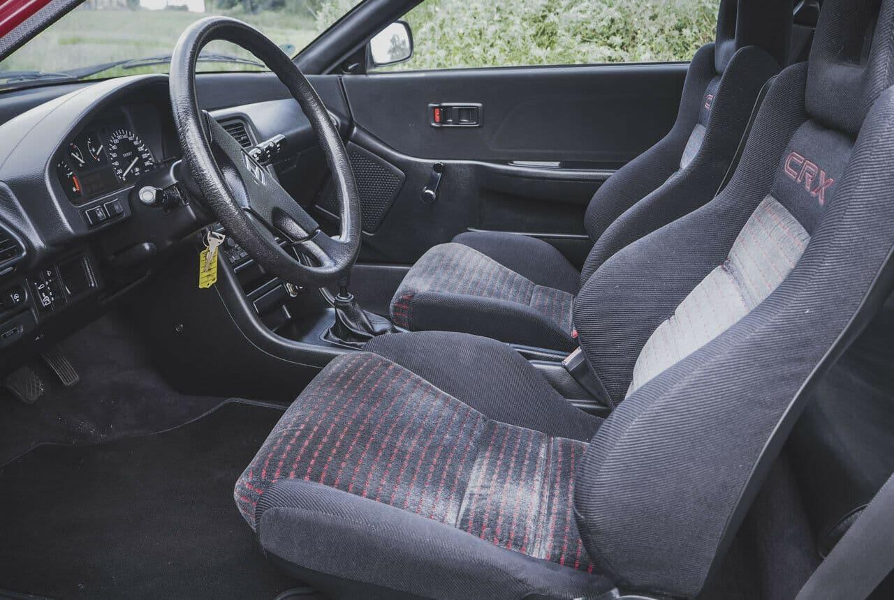 Intérieur Honda CRX (ED9)