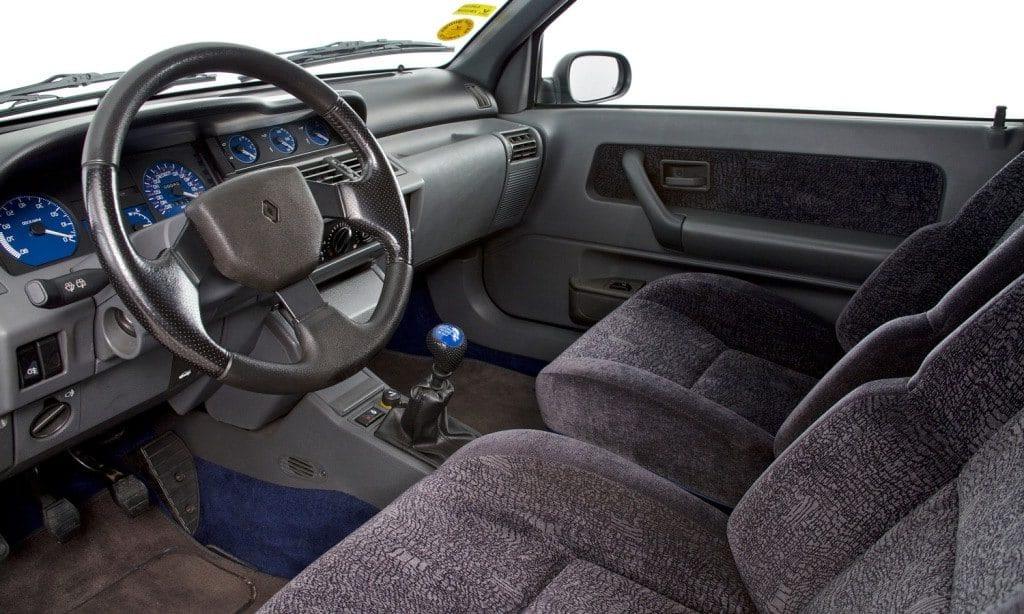 Intérieur Renault Clio Williams
