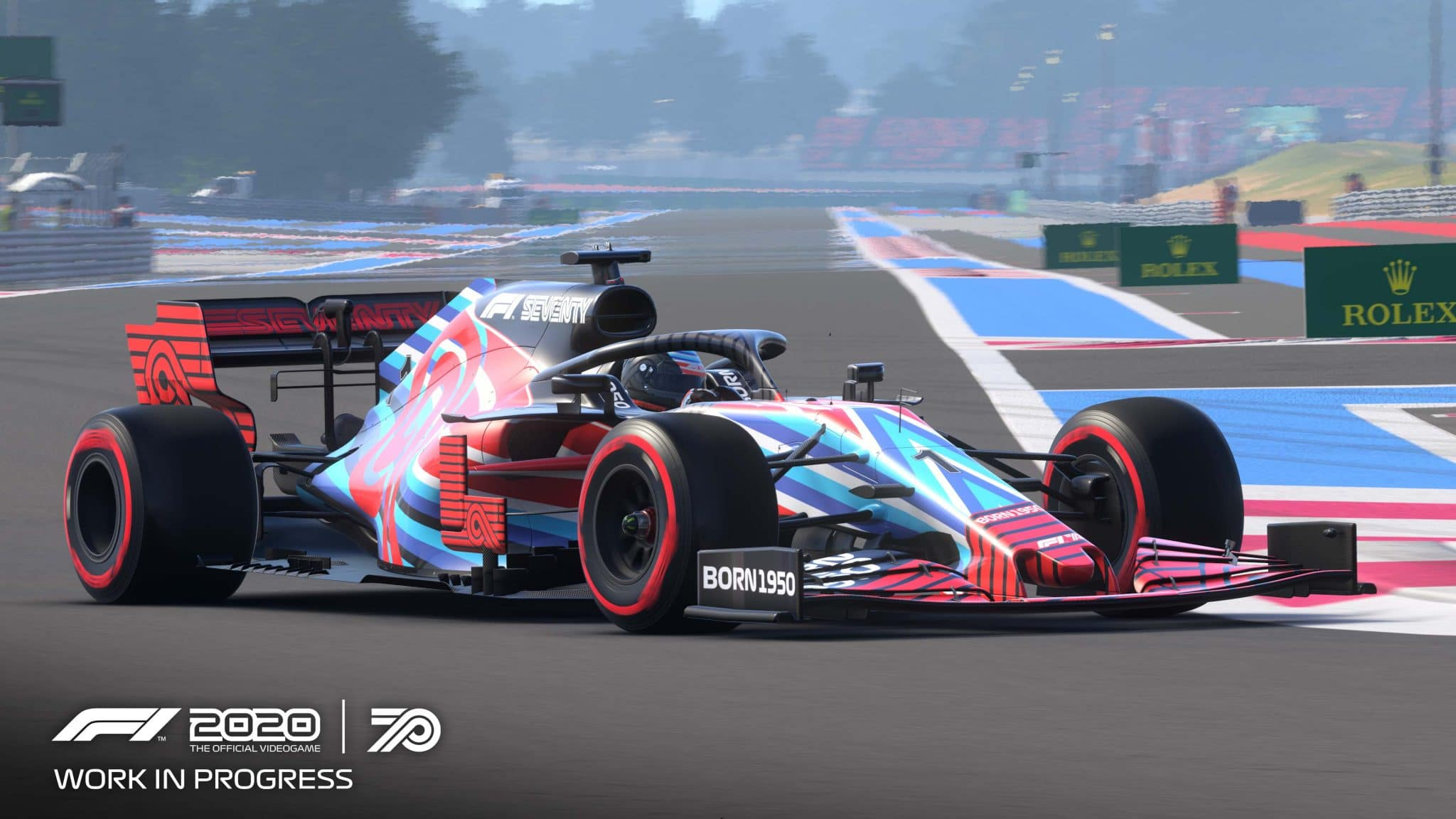 Premier essai (demo) : F1 2020
