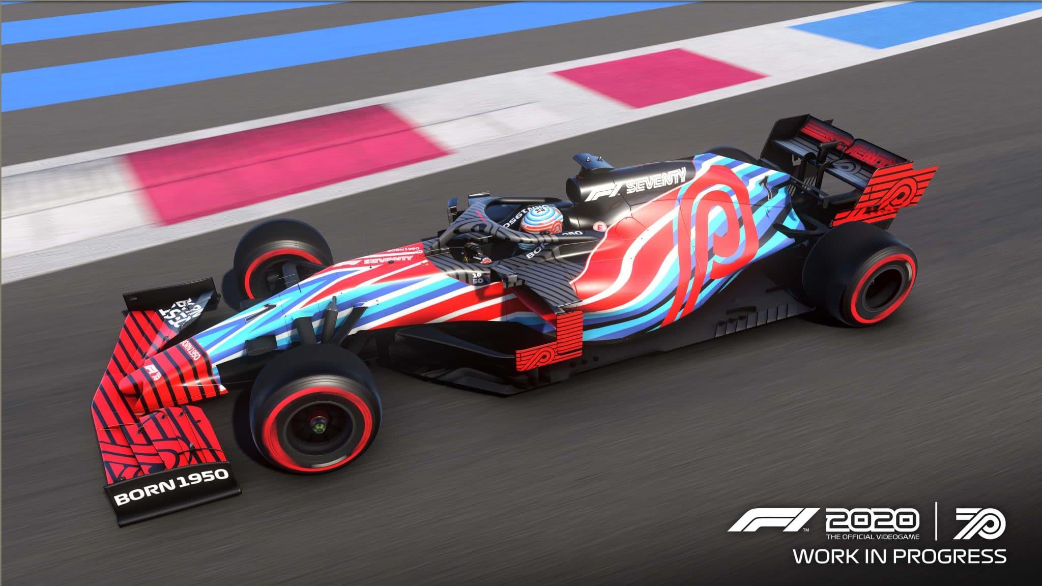 Jeu Formule 1 2020