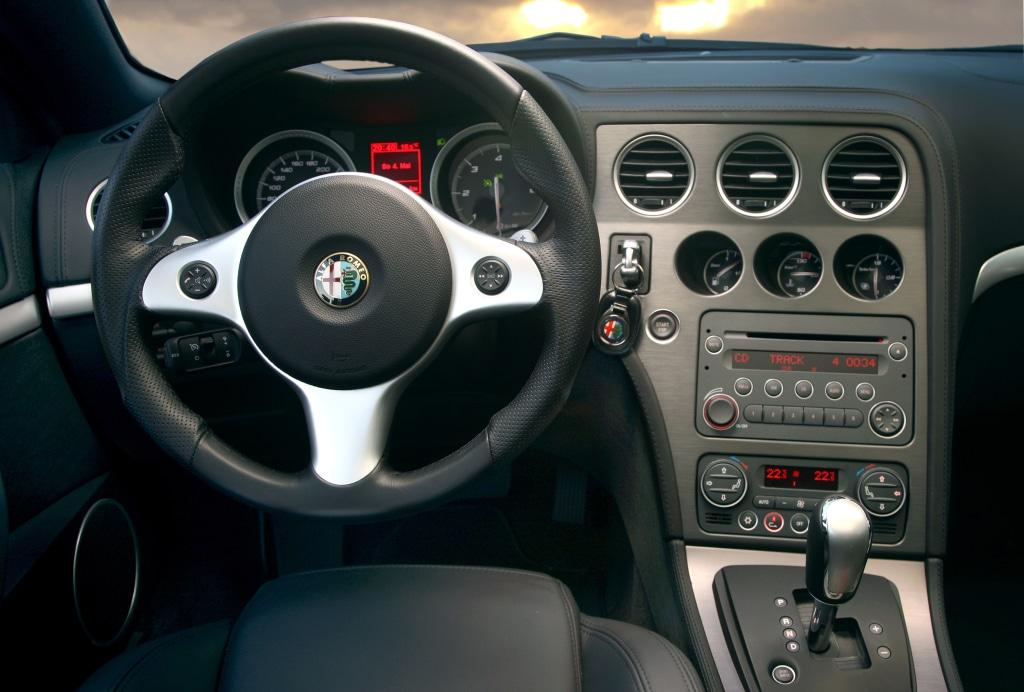 Intérieur Alfa Romeo Brera V6