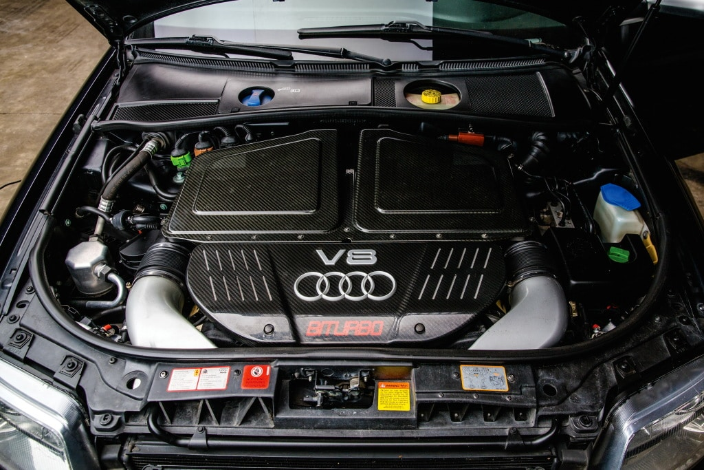 Moteur V8 Audi RS6 (C5)