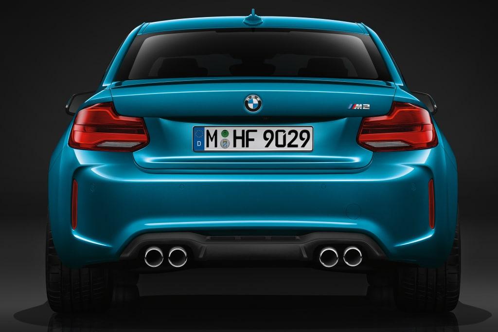 Arrêt de la BMW M2 (F87)
