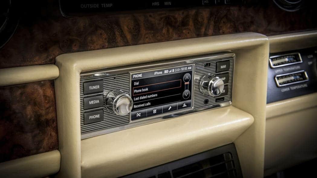 Système infotainment pour anciennes Jaguar