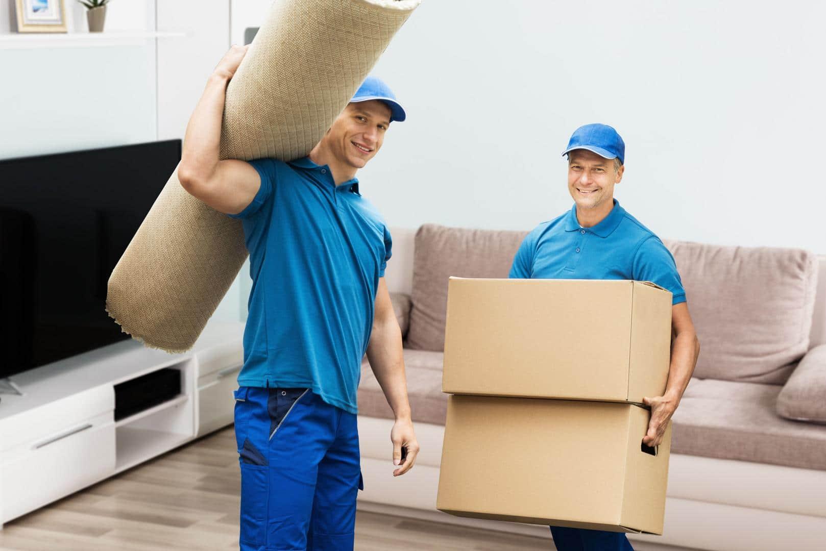 déménagement par des pros