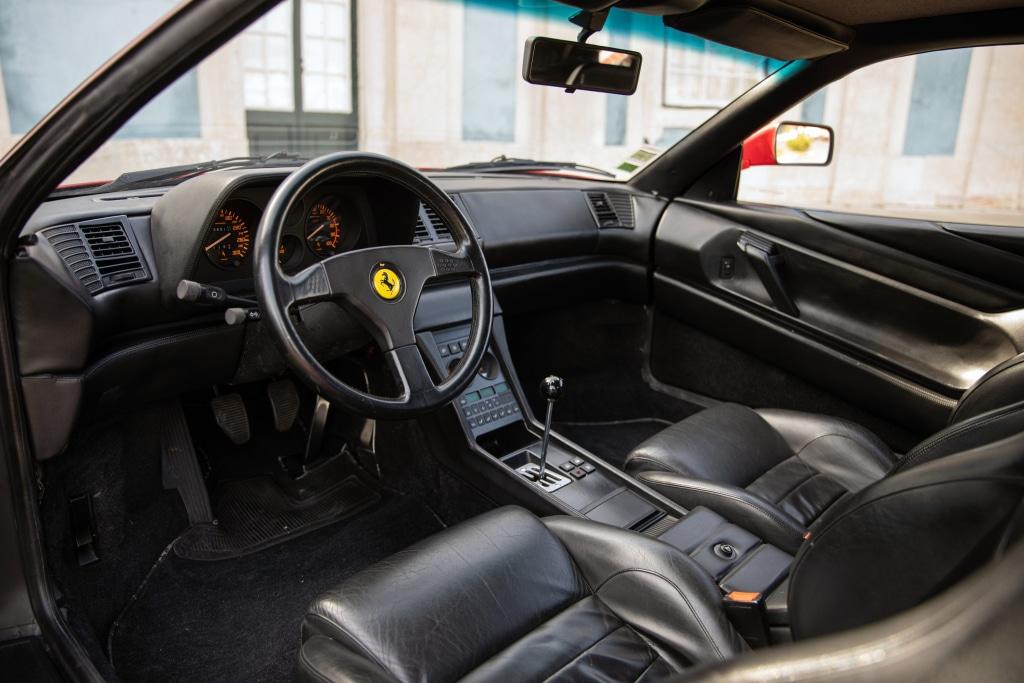 Intérieur Ferrari 348