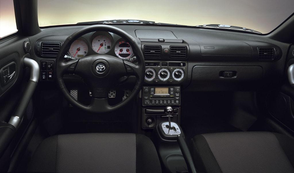Intérieur Toyota MR Spyder