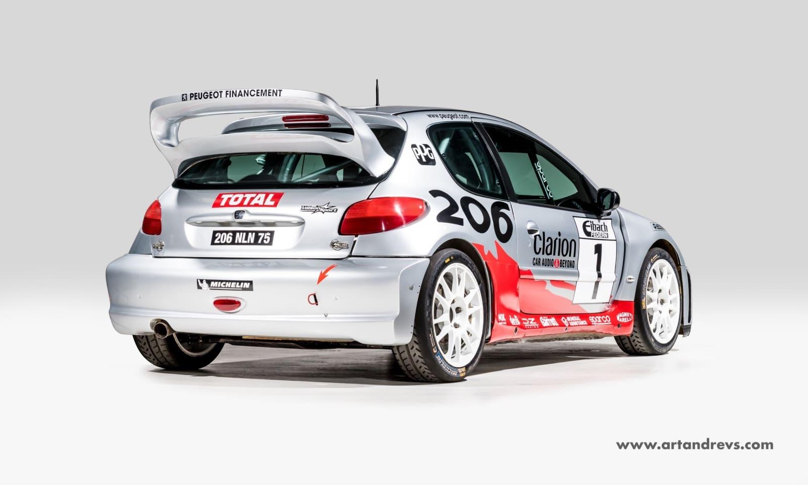 206 WRC vente