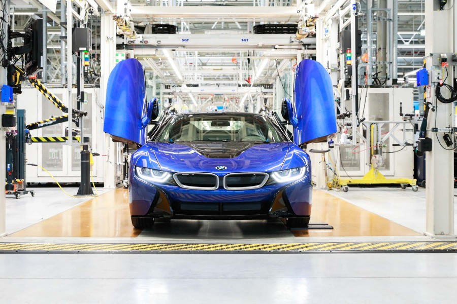 Arrêt production BMW i8 (2020)